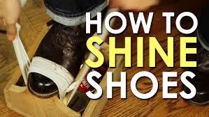 Shoe Shinning 1/17/19